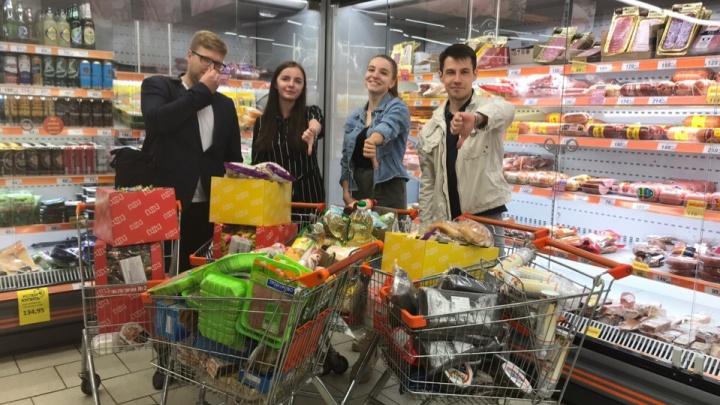 В супермаркете Ярославля нашли шесть тележек просрочки