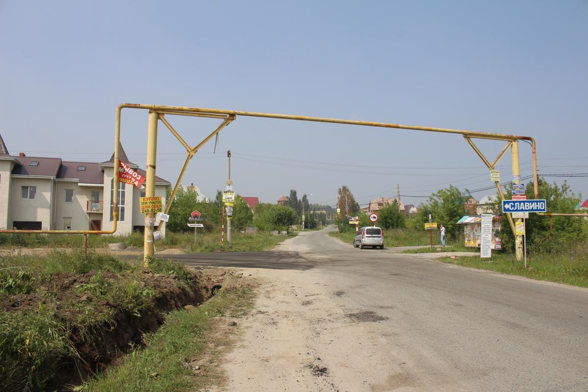 Несколько лет назад власти построили дорогу к «Славино» по улице Храмовой, теперь её соединят с улицей Строителей