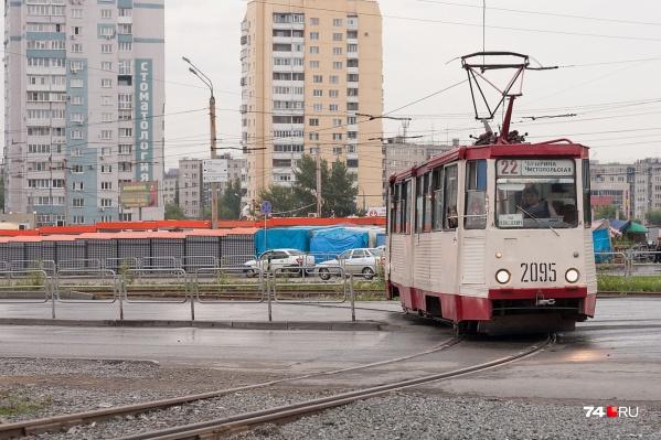 В эти выходные уехать на трамвае дальше кольца на улице Ворошилова не получится