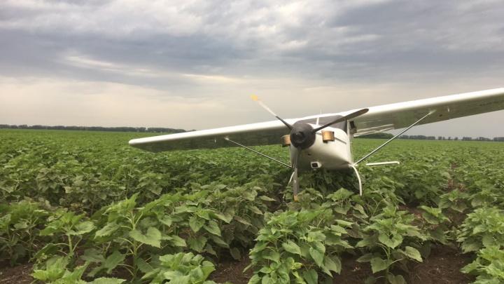Сбежали в лес? В Самарской области в поле нашли самолёт без пилота и пассажиров