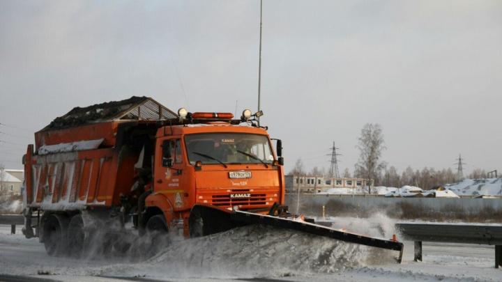 Дорожники начали патрулировать южноуральские трассы из-за надвигающихся морозов