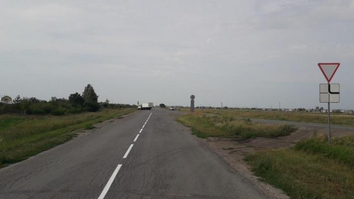 На автодороге Курган— Куртамыш столкнулись «Газель» и ВАЗ. Три человека пострадали