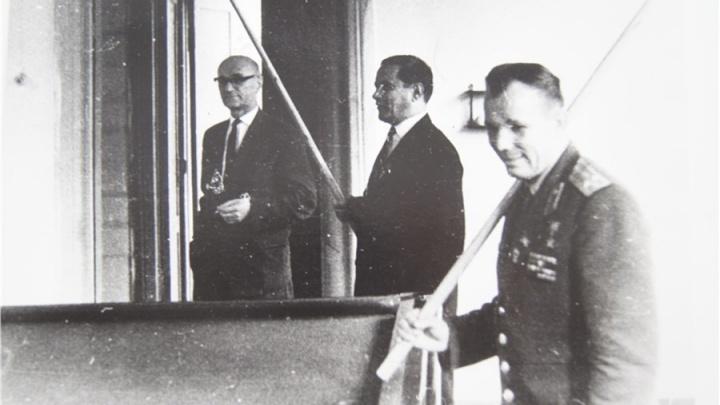 Вспоминаем приезд первого космонавта в Красноярск: шесть кадров с Гагариным 55 лет назад