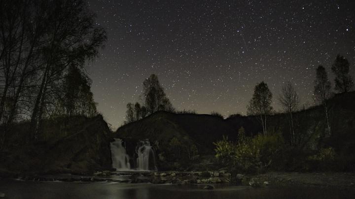 Новосибирец увидел в небе непредсказуемый звёздный дождь
