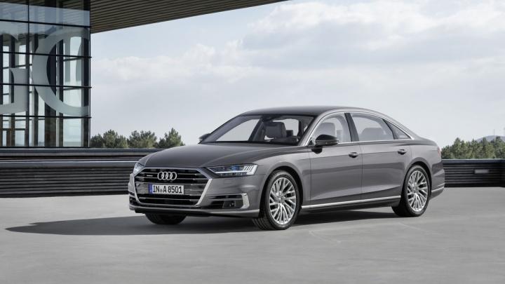Завод «Красцветмет» заказал Audi почти за 9 млн рублей с системой автоторможения