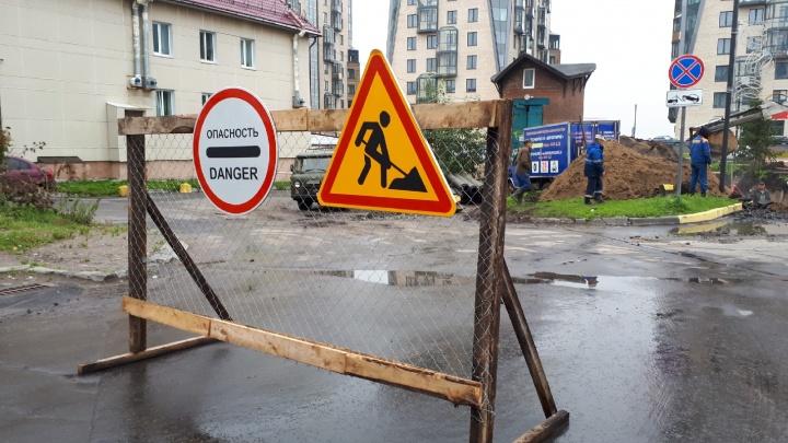 Цигломень без света, центр города — без воды: в какие дома Архангельска постучались отключения