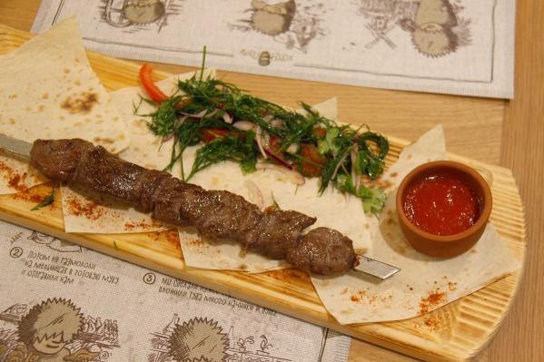 В новом ресторане упор будет сделан в том числе на блюда, которые готовят на мангале
