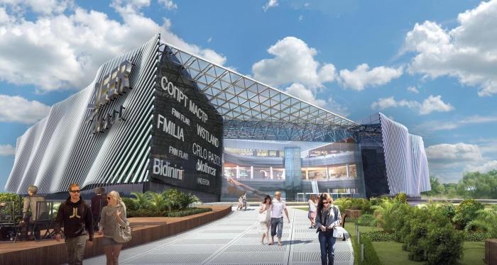 В ТРЦ должен появиться большой кинотеатр и парк развлечений