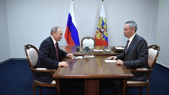Путин одобряет: областное правительство заявило, что президент поддержал строительство метро и ЛДС