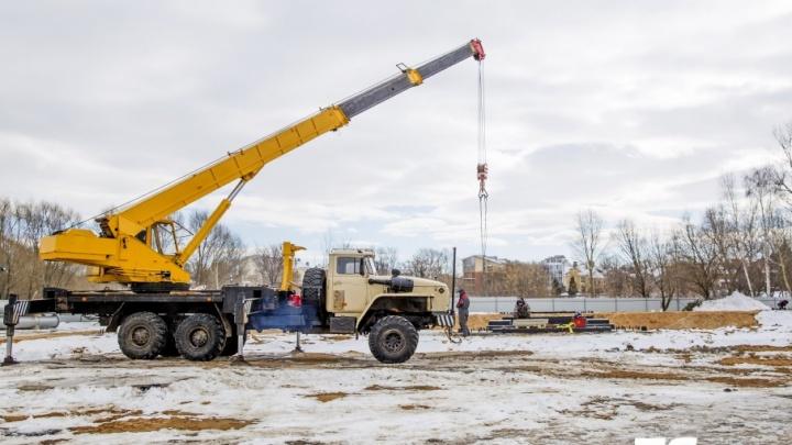 Колесо оборзения: несмотря на запреты, в Ярославле запустят гигантский золотой аттракцион