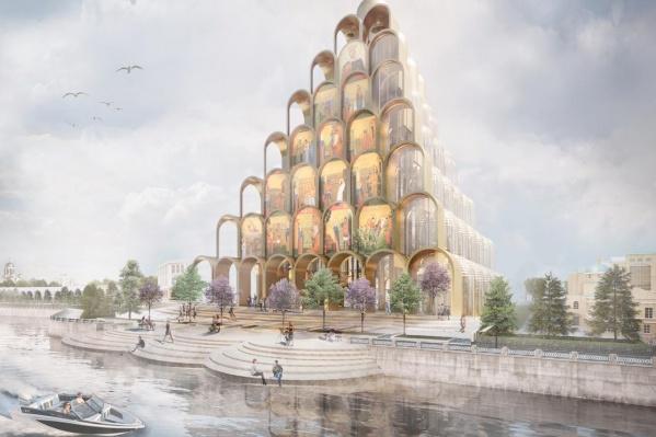 Такой вариант предложила екатеринбургская архитектурная студия