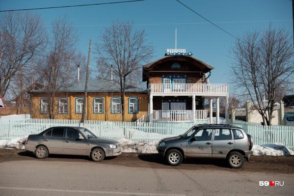 Дом, который построил Василий Каменский, находится в селе Троица