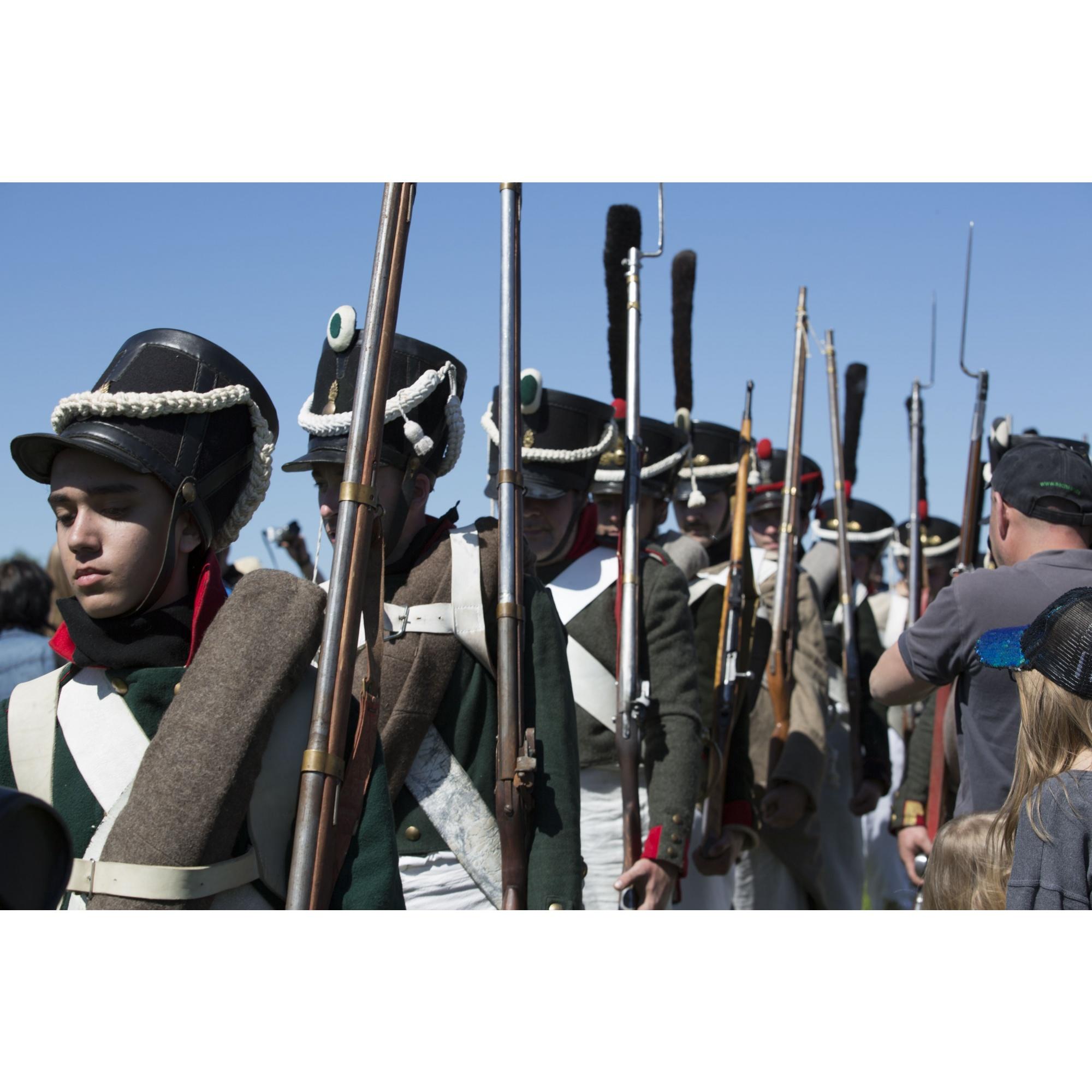 Зрители увидели сражение 1812 года