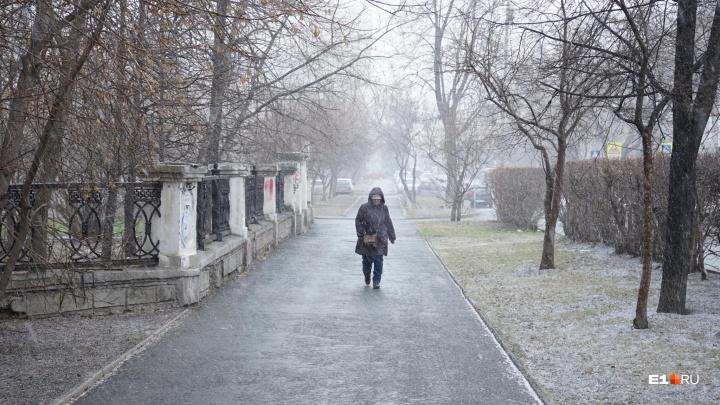 Наш ледниковый период: в Екатеринбурге случилось самое морозное 17 апреля за 100 лет