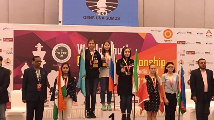 14-летняя екатеринбурженка стала чемпионкой мира по шахматам