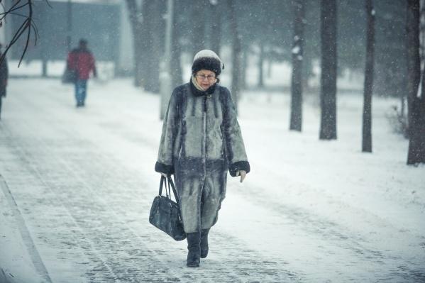 К середине недели снегопад в Новосибирске снова прекратится