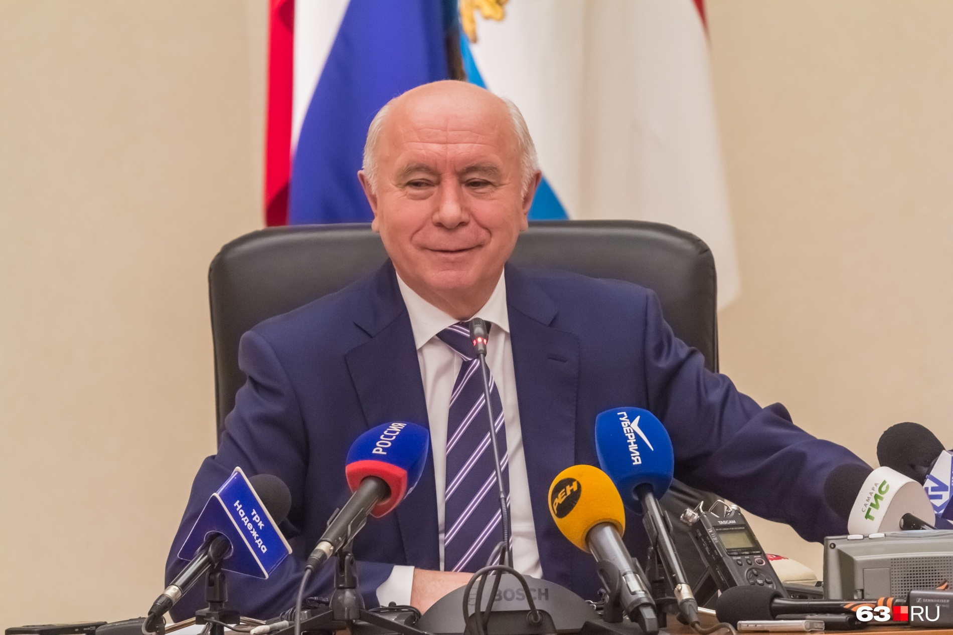 Николай Меркушкин приехал в Самару из Мордовии