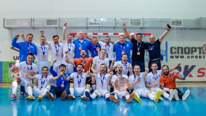 Мини-футбольный клуб «Динамо Самара» оказался удачливее, чем «Крылья Советов»