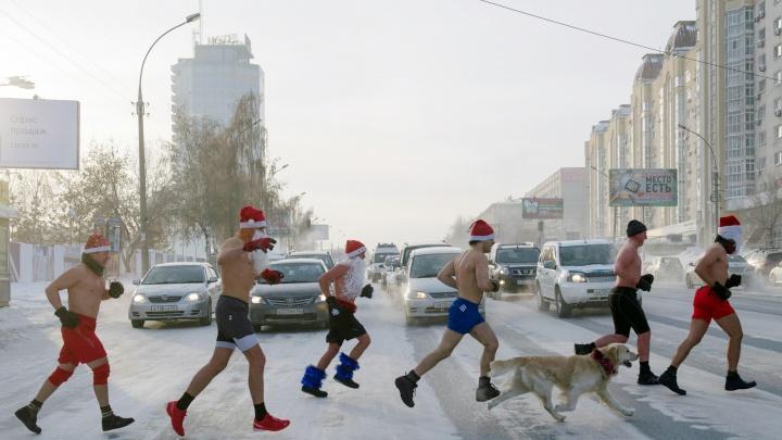 Забег Дедов Морозов: самые интересные события последнего уик-энда перед праздниками