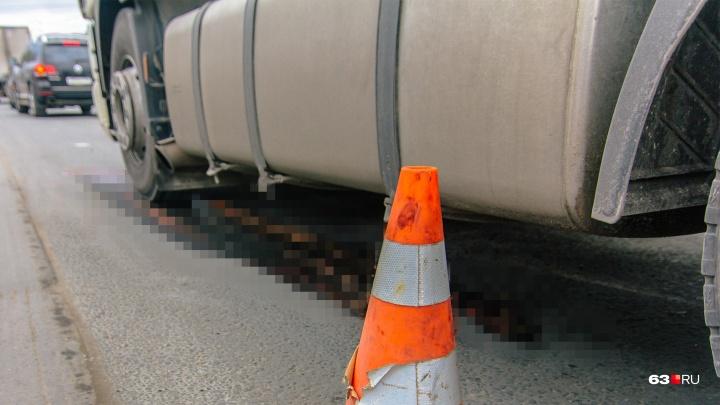 В Самарской области водитель фуры насмерть сбила пешехода и сбежала с места ДТП