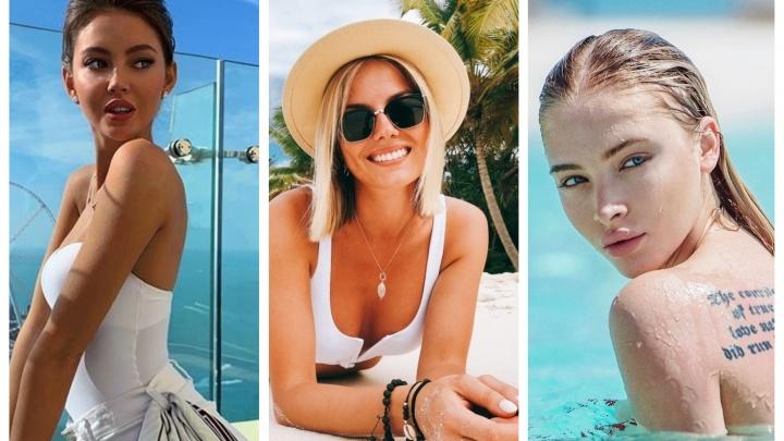 Кто сексуальнее? Показываем снимки 5 самых красивых девушек Тюмени в купальниках