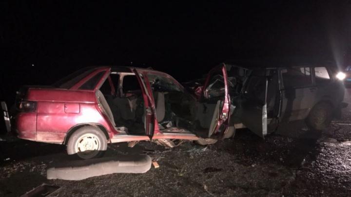 В Башкирии шестеро пострадали во встречном ДТП