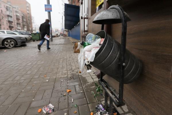 Новочеркасск не первый год попадает в список самых грязных городов региона