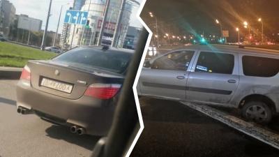 Автохамы в городе: самарским водителям сорвало тормоза и «башню»