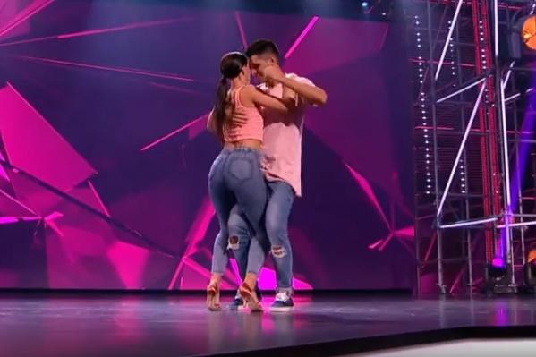 Эльза Хаматуллина и Максим Копытов выступили с танцем бачата