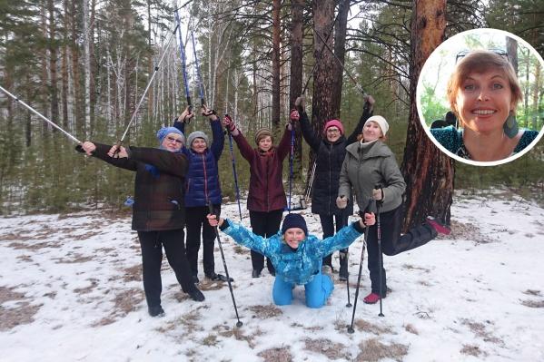 Скандинавская ходьба— щадящий спорт для тех, кто хочет получить нагрузку на все группы мышц
