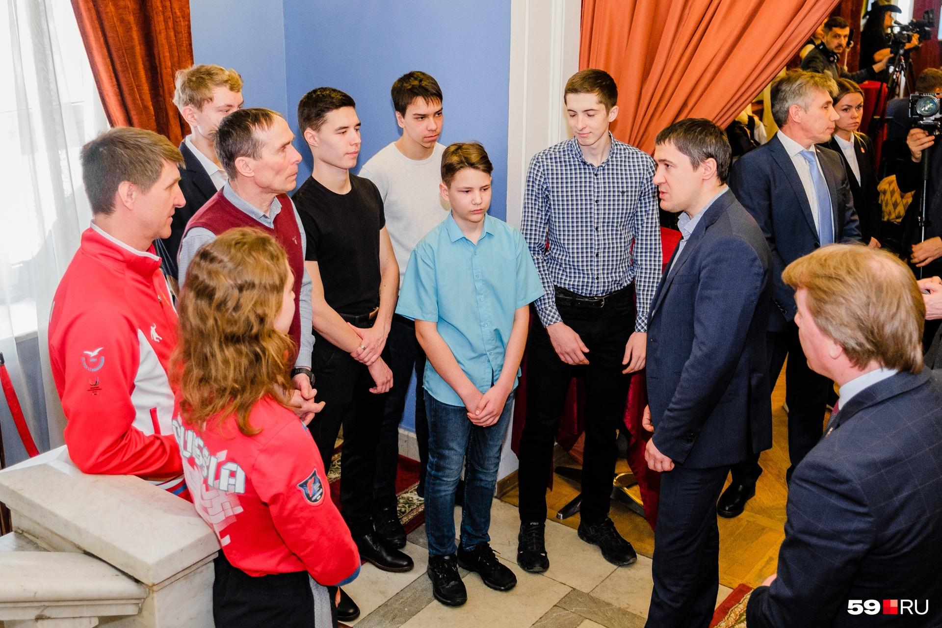 На презентации побывал врио губернатора Пермского края Дмитрий Махонин