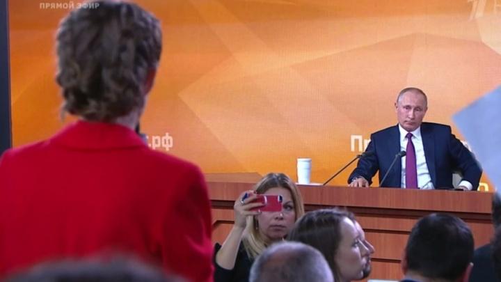 «Это что, позитивная программа?»: Путин ответил Собчак на вопрос о конкуренции