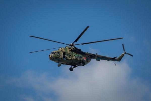 Вертолёты оборудованы специальными водосбросными устройствами