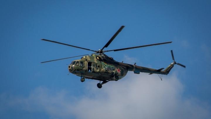 Новосибирские вертолёты отправились тушить лесные пожары в Красноярском крае