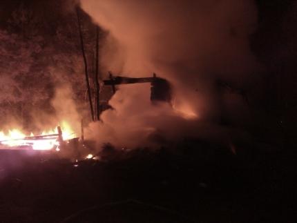 Два человека погибли на пожаре в Нижегородской области