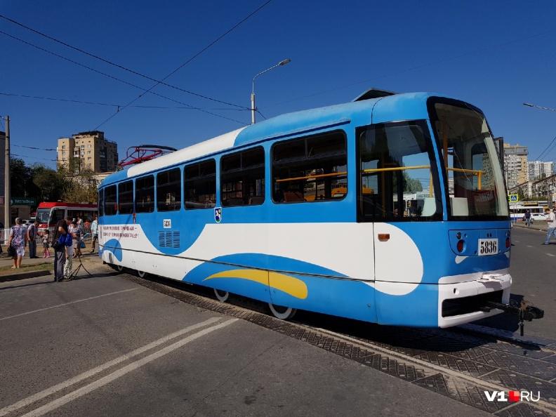 Были представлены различные модификации пассажирских трамваев