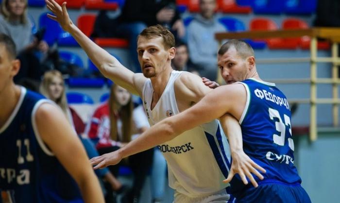 БК «Новосибирск» находится на пятой строчке турнирной таблицы Суперлиги