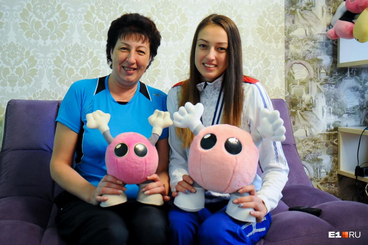 Ирина Ильченко (Смирнова) с дочкой Ксенией Парубец