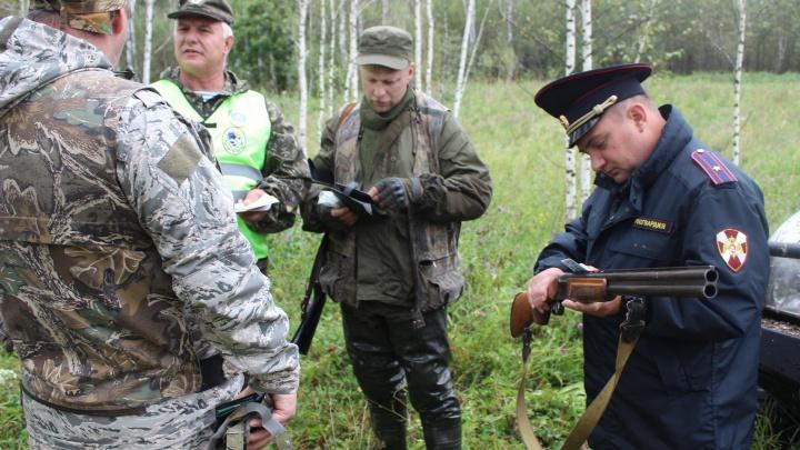 Росгвардия забрала у охотников в лесу 161 ружьё