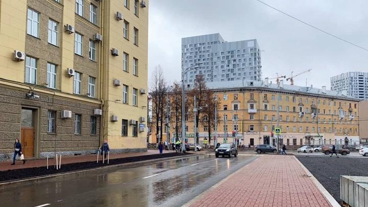 В Перми полностью открыли движение на участке улицы Революции