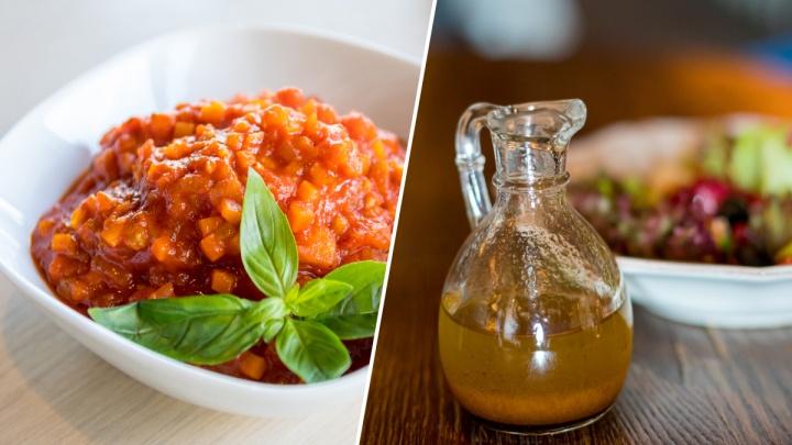 Рецепт от шеф-повара: три простых соуса, которые украсят любое блюдо