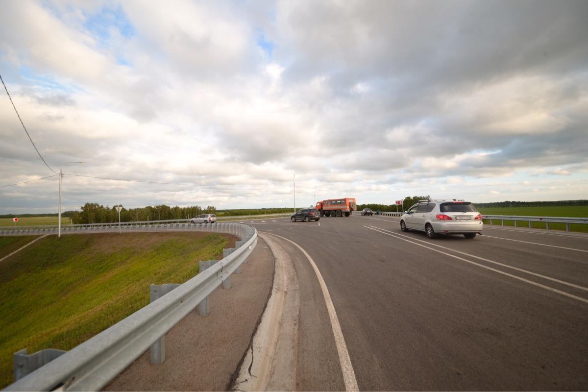Научастке федеральной дороги «Иртыш» открыто движение