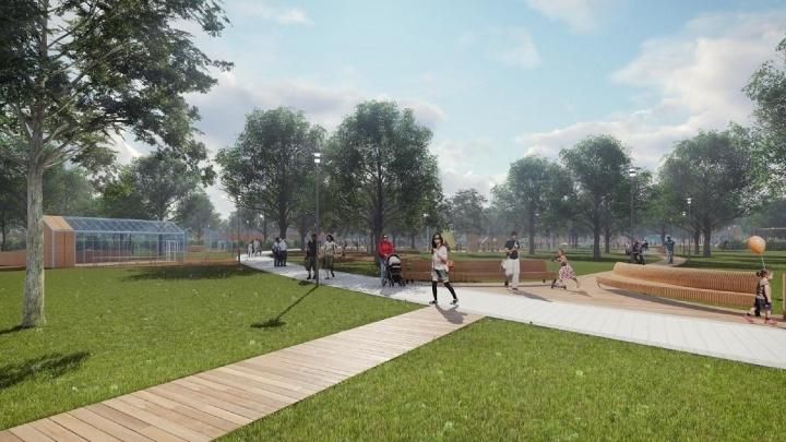 В хуторе Ленина и станице Мишкинской Аксайского района появятся современные парки