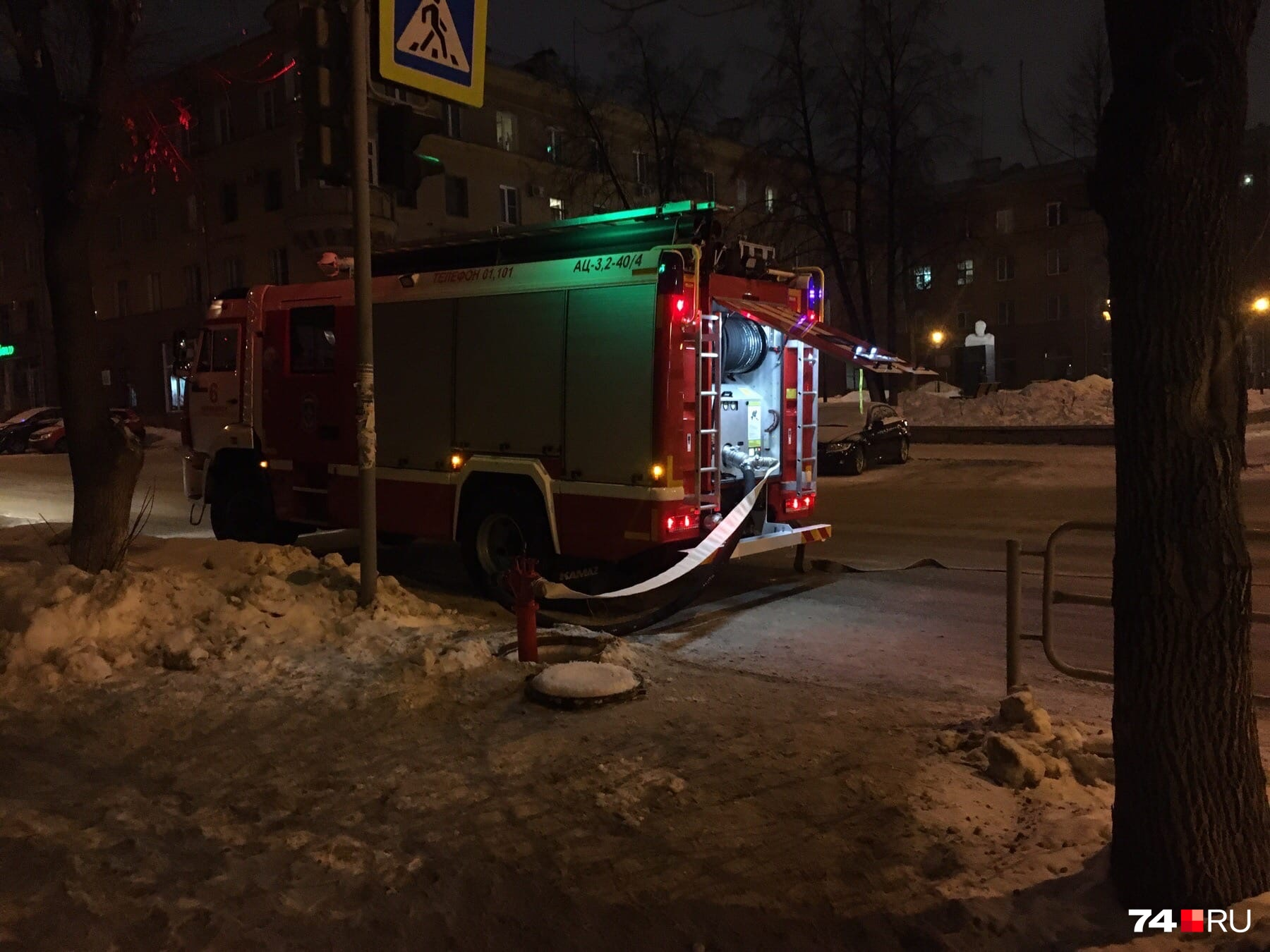 Спасателям предстоит «потушить» возгорание в одном из залов театра