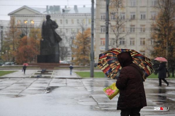 Шторм заденет и Архангельск