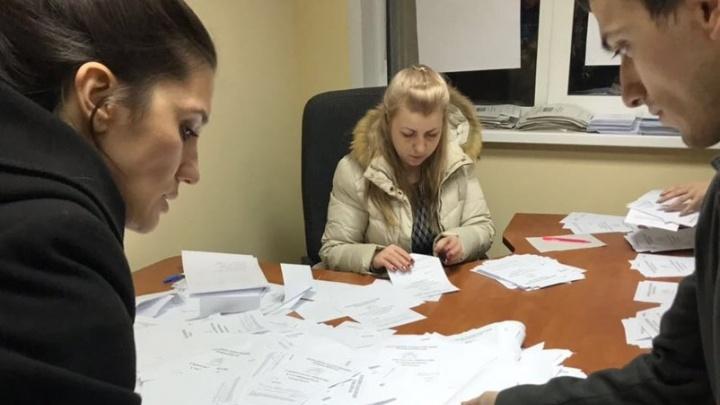 В день выборов жители 3 микрорайона «Солнечного» собрали 5,4 тысячи подписей за строительство школы