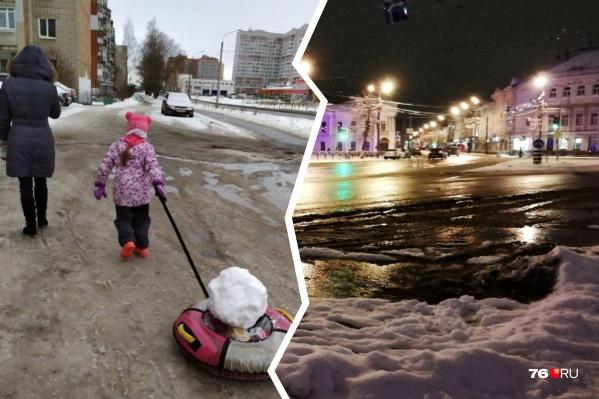Власти и коммунальщики изо всех сил стараются содержать Ярославль в чистоте, но остаются места, к которым у людей есть претензии