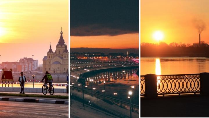 Где лучше закаты смотреть? Сравниваем набережную Нижнего Новгорода с другими российскими городами