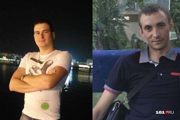 Борис Варавин — слева, Сергей Луценко — справа