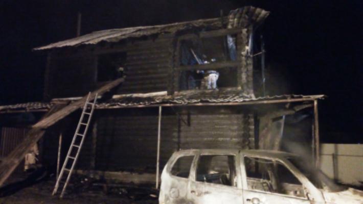 В Челябинской области при пожаре погибли женщина с двухлетней дочкой